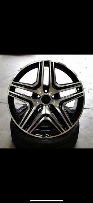 "Mercedes gle ml glc 20"" new amg style rims tires set for Sale in Hayward, CA"