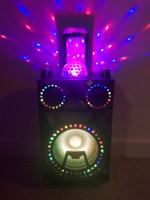 Bluetooth speaker 🔊 karaoke 🎤 for Sale in Falls Church, VA