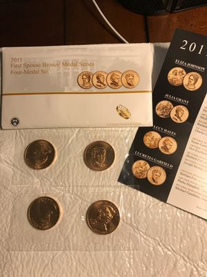 2011 First Spouse Bronze Medal Series for Sale in Bartow, FL
