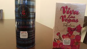 Cologne :Jean Paul Gaultier and viva Las vegas for Sale in Chicago, IL