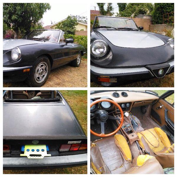 1984 Alfa Romeo Spider Veloce For Sale In West Covina, CA