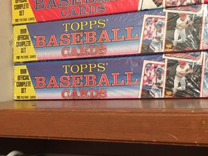 1989 Topps Baseball Card Set-Never Opened for Sale in Wichita, KS