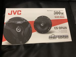 Jvc car audio . 6.5 inch car stereo speakers 300 watts . New for Sale in Mesa, AZ