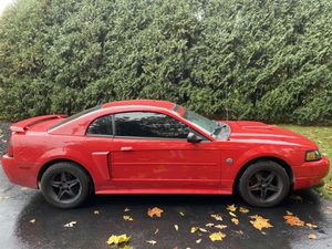 Ford Mustang gt, v8 straight piped with 217,000 miles also lowered suspension and has cams never been drove through winter for Sale in Monticello, IN
