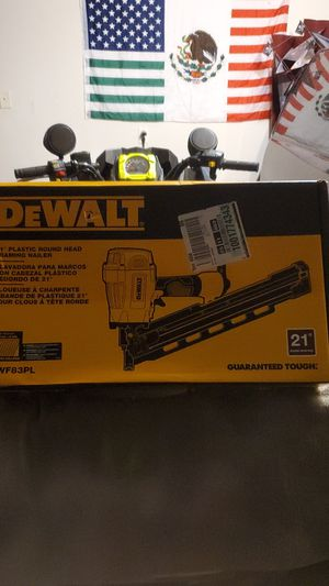 21 plastic round head framing nailer for Sale in Houston, TX