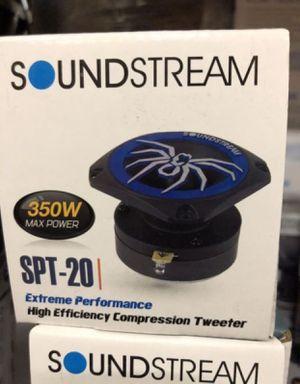 New Soundstream SPT20 350W 4-Ohm Pro Audio Tweeters for Sale in Hawthorne, CA