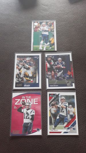 Football cards: Tom Brady: lot of 5 for Sale in Coyote, CA