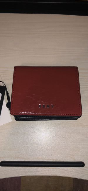 Dkny red snap wallet NWT!! for Sale in Sterling, VA