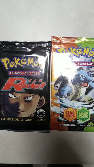 Pokemon packs for Sale in Fort Worth, TX