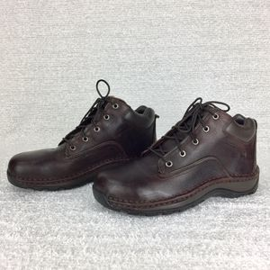 Red Wing Brown leather Steel Toe Work Boots Men sz 9 for Sale in Tamarac, FL