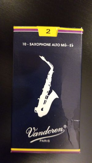 Saxophone Alto #2 reeds for Sale in Hobe Sound, FL