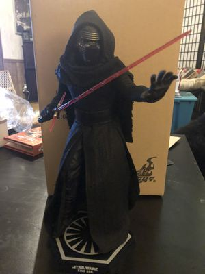 Hot Toys MMS320 - Kylo Ren (Star Wars Episode VII - The Force Awakens) 1/6 Scale Figure for Sale in Colton, CA