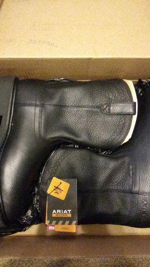 Ariat Work Boots Steeltoe for Sale in Houston, TX