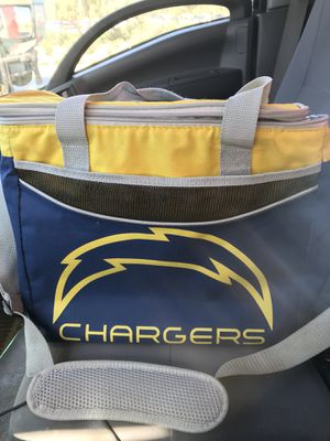 NFL Chargers cooler bag pouch for Sale in Wildomar, CA