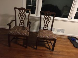 Dinning room chairs - 5 total for Sale in Adelphi, MD