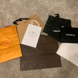 Designer Empty Boxes And Shopping Bags - LV, Loubs, Etc for Sale in Chicago, IL