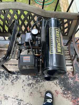 Craftsman air compressor 150 psi 4 gallons for Sale in Washington, DC