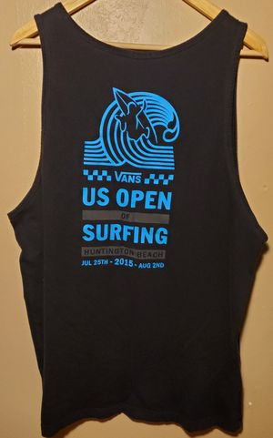 VANS U.S. OPEN OF SURFING Tank Top Men's Size XL for Sale in Downey, CA