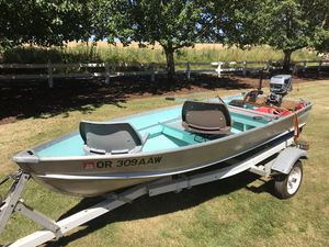 Aluminum boat for Sale in Aloha, OR