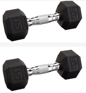 15 LB Dumbbells for Sale in Chino, CA