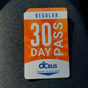 Bus Passes for Sale in Lake Forest, CA