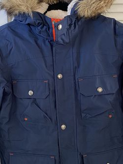 Lands End Expedition Jacket Parka Boys Navy Size M (8/10) for Sale in Miami,  FL