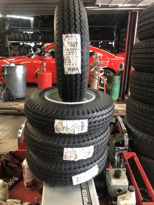 Trailer tires 4.80/4.00-8 for Sale in Franklin Park, IL