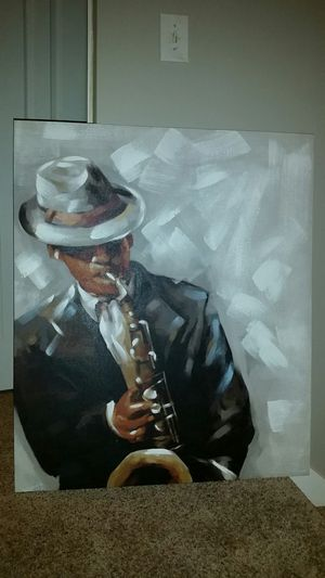 Saxophone painting for Sale in Stone Mountain, GA