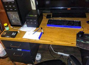 Large Vintage Metal Office Desk for Sale in Decatur, IN