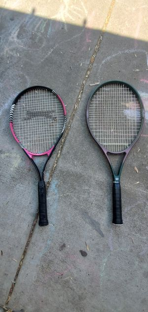 2 tennis rackets for Sale in Modesto, CA