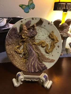 Angel plate holder for Sale in Kissimmee, FL