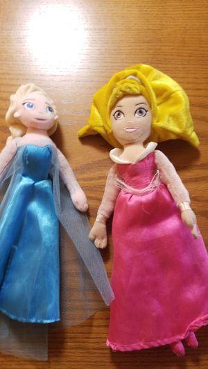 Disney Princess plushies for Sale in Oak Lawn, IL