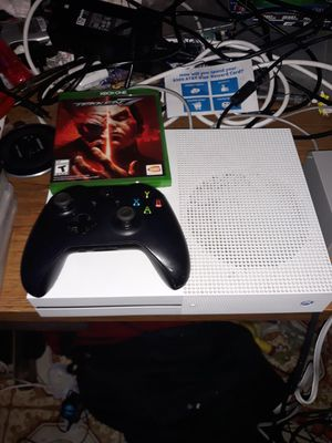 Xbox one s its 1 Tb in good condition with control and one free game its 4k for Sale in Dallas, TX
