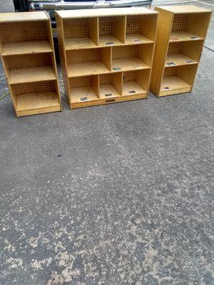 3 shelfs cabinets for Sale in Houston, TX