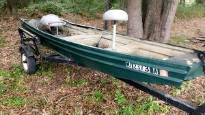 16ft John boat for Sale in Tupelo, MS