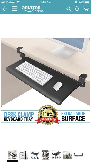 Office Desk Keyboard Drawer for Sale in St. Petersburg, FL