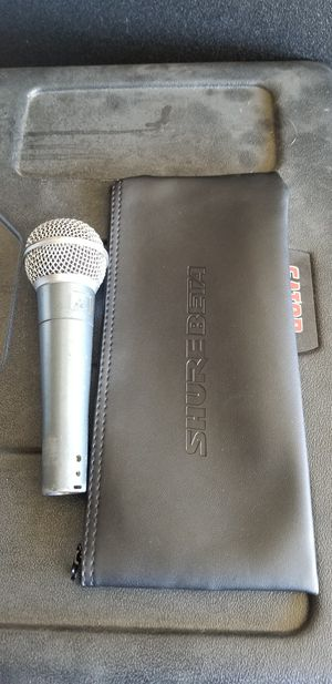 Micrófono Shure beta 58 for Sale in Fontana, CA