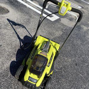 Ryobi 13inch 18volt Cordless Mower for Sale in Atlanta, GA