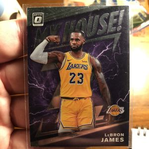 2019-20 Donruss Optic MY HOUSE PURPLE HOLO PRIZM LeBron James (LAL) for Sale in Lake Worth, FL