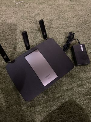Linksys dual band router- excellent condition for Sale in Chandler, AZ