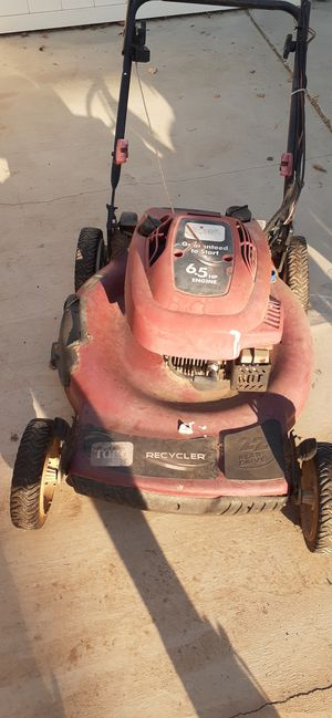Toro lawn mower star and ruans for Sale in Corona, CA