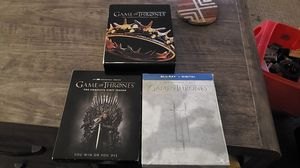 Seasons 1,2,3 GOT Blue Ray for Sale in Sherwood, OR