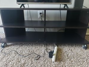46 inch TV Stand (Black/Espresso) for Sale in Aspen Hill, MD