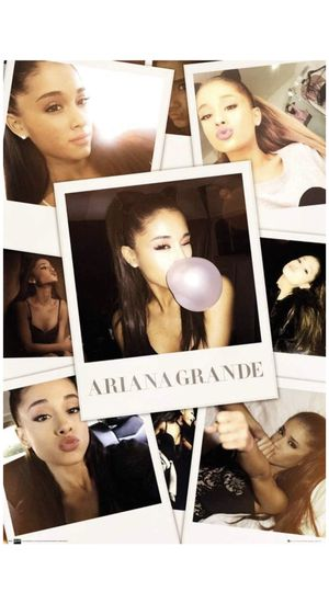 Ariana Grande Polaroid Poster for Sale in Arroyo Grande, CA