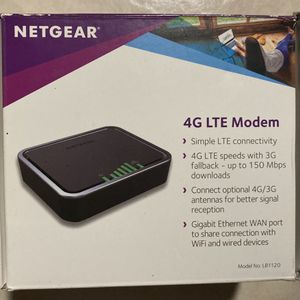 NETGEAR 4G LTE Modem New! for Sale in Durham, NC