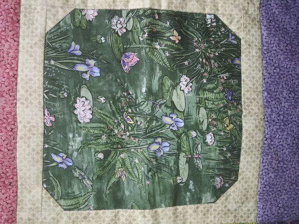 Handmade quilt work