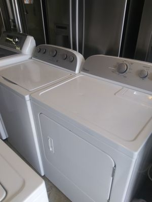 Washer and dryer set new model $399 for Sale in Orlando, FL