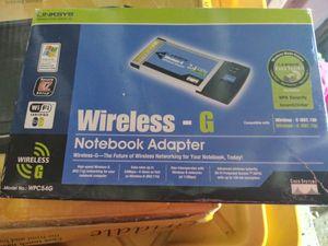Wireless g notebook adapter for Sale in Riverside, CA