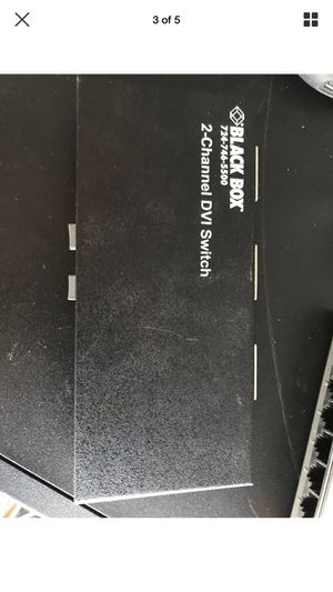 Black Box serv switch for Sale in Chicago Heights, IL