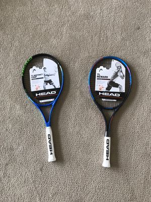 Bran new tennis rackets never used for Sale in Irvine, CA